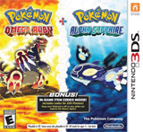 Pokemon Omega Ruby and Alpha Sapphire Double Pack