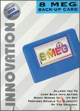 Saturn 8 Meg Memory Card Innovation
