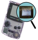 Game Boy Color Repairs: Screen Lens Replacement Service