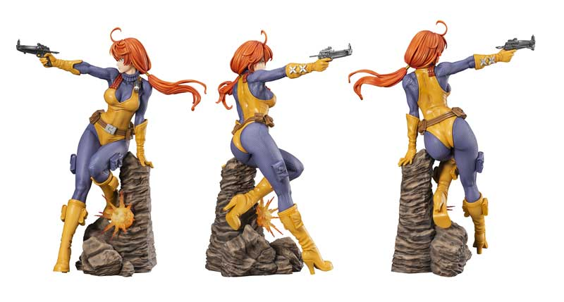 GI Joe A Real American Hero Scarlett Bishoujo Statue additional angles