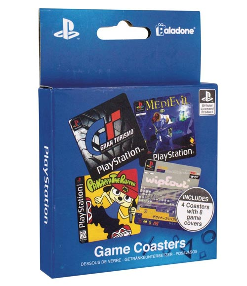 PlayStation Game Coasters 4 Pack