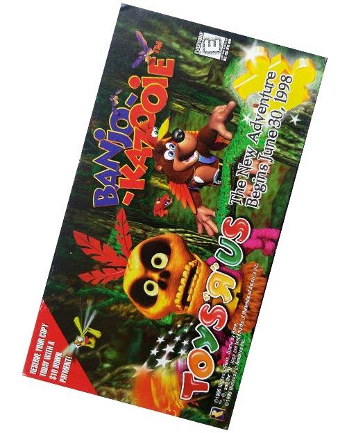 Banjo-Kazooie Promo VHS Tape