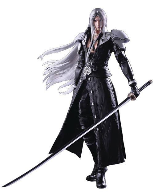 Final Fantasy VII Remake: Play Arts Kai Sephiroth Action Figure
