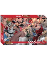 Street Fighter by Akiman 1000 Piece Jigsaw Puzzle