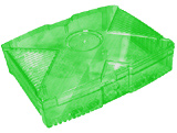 XBox Clear Green Color Case