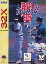 RBI Baseball '95 / 32X