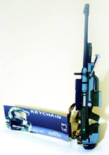 Halo 3 Sniper Rifle PVC Keychain