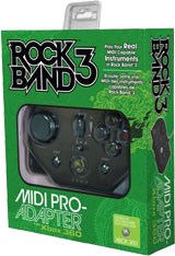 Xbox 360 Rock Band 3 MIDI Pro Adapter