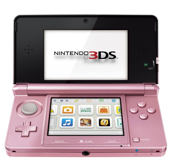 Nintendo 3DS System Pearl Pink