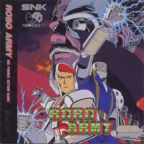 Robo Army Neo Geo CD