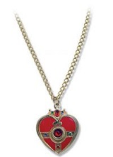 Sailor Moon Cosmic Heart Metal Necklace