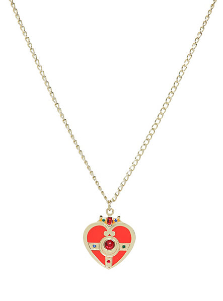 Sailor Moon Cosmic Heart Metal Necklace (2)