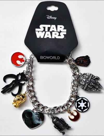 Star Wars Charms Bracelet