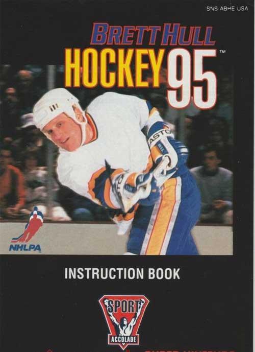 Brett Hull Hockey (Instruction Manual)