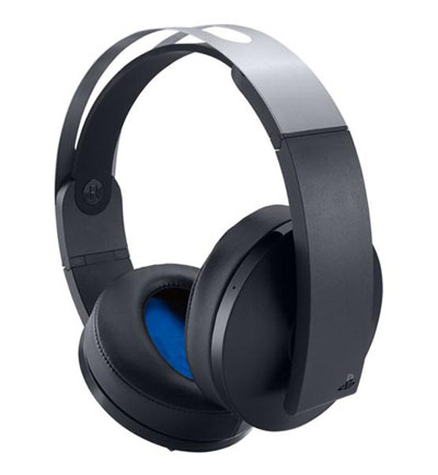 A view of the other side of the PlayStation 4 Platinum Wireless Headset