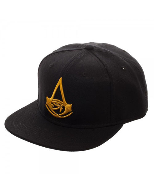 Assassin's Creed Origins Black Snapback