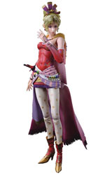Dissidia Final Fantasy Play Arts Kai Terra Branford Action Figure