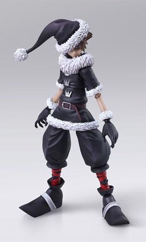 Kingdom Hearts 2 Bring Arts Christmas Town Sora Action Figure