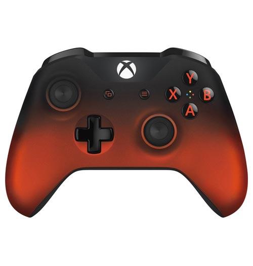 Xbox One S Wireless Controller Volcano Shadow Microsoft