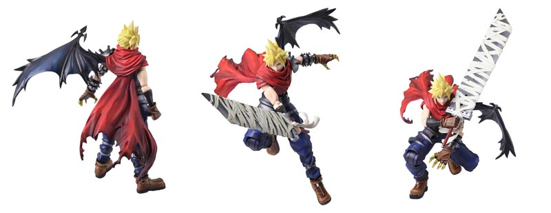 Final Fantasy Bring Arts Cloud Strife Another Form AF additional poses