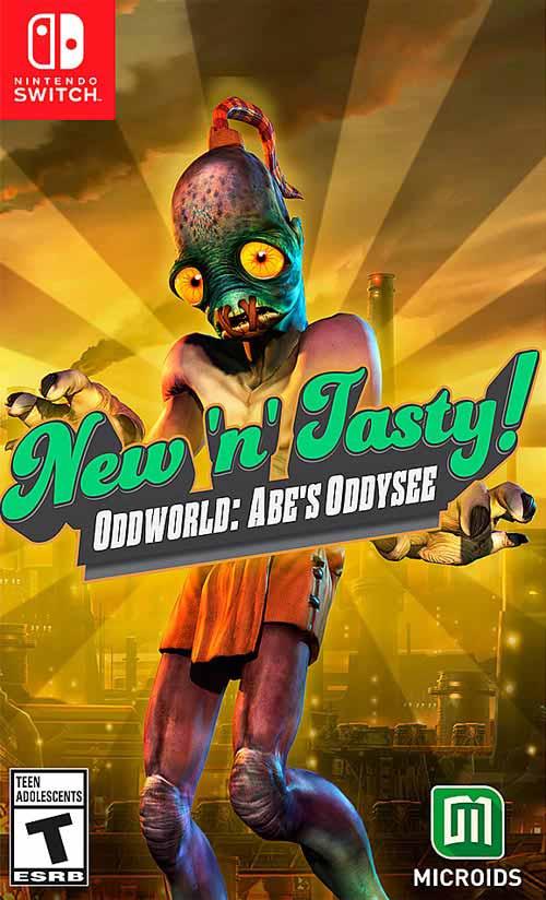Oddworld: New 'n' Tasty