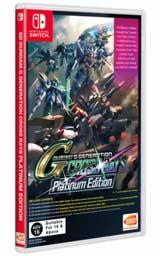 SD Gundam G Generation Cross Rays Platinum Edition