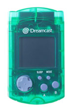 Dreamcast VMU by Sega Clear Green