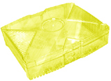 XBox Clear Yellow Color Case