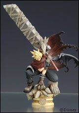 Kingdom Hearts Formation Arts: Cloud Strife Figure
