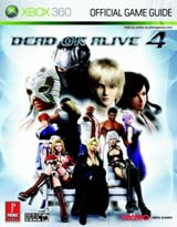 Dead or Alive 4 Official Strategy Guide Book