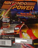 Nintendo Power Volume 122 World Driver Championship