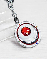 Sailor Moon Red Transformation Brooch Keychain
