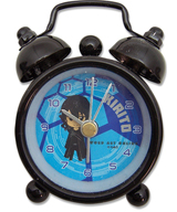 Sword Art Online Kirito Round Desk Clock