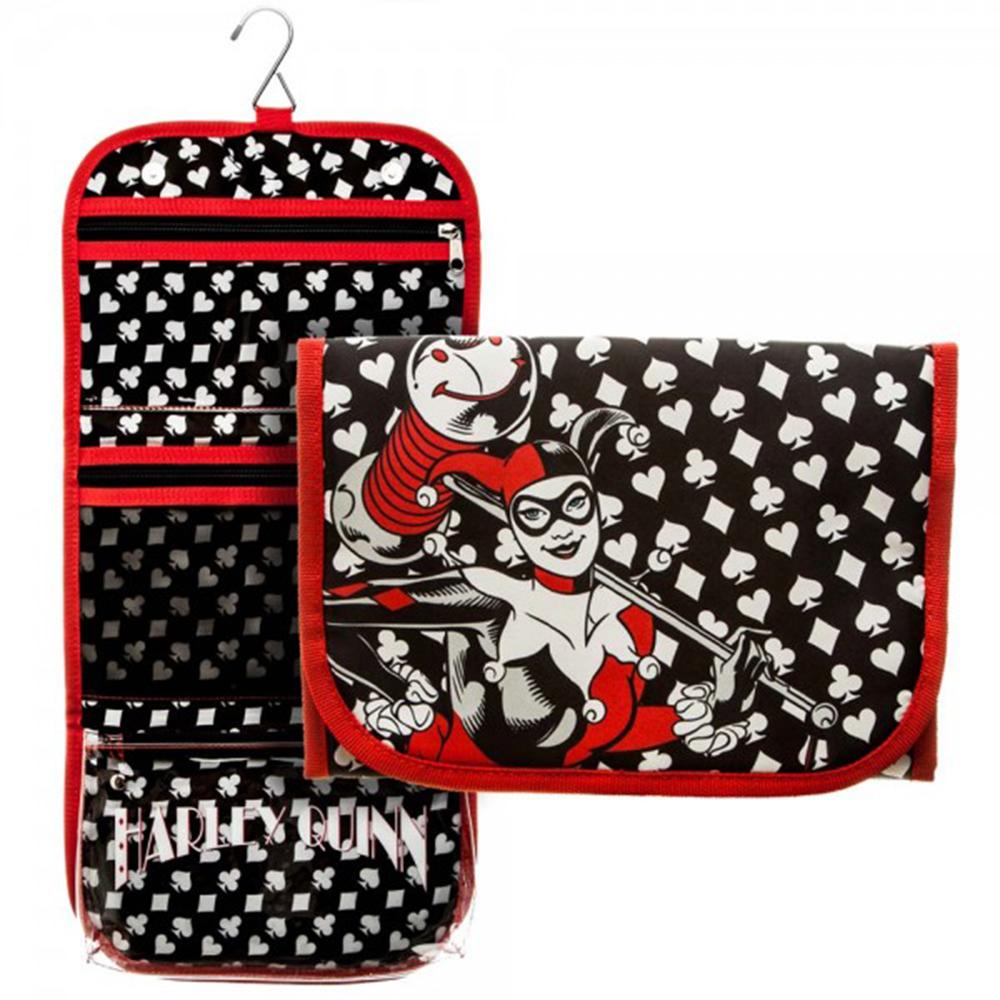 DC Comics Harley Quinn Cosmetic Bag