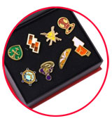 Pokemon Kalos League 8 Gym Badges