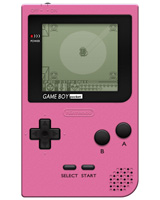 Nintendo Game Boy Pocket System Pink