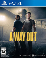 PS4 A Way Out Boxart
