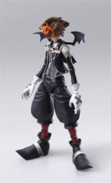 Kingdom Hearts 2 Bring Arts Halloween Town Sora Action Figure