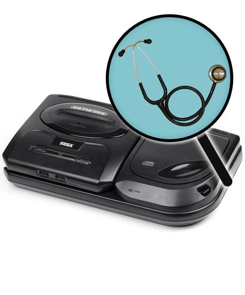 Sega CD Repairs: Free Diagnostic Service
