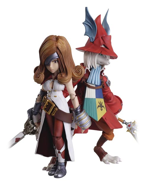 Final Fantasy IX Bring Arts Freya & Beatrix Action Figure Set