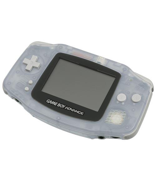 Nintendo Game Boy Advance Glacier Refurbished System - Grade A