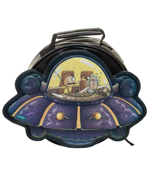 Rick & Morty Spaceship Lunch Box