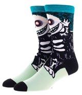 Nightmare Before Christmas Barrel 360 Character Crew Socks