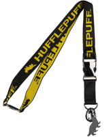 Harry Potter Hufflepuff Yellow Jacquard Lanyard