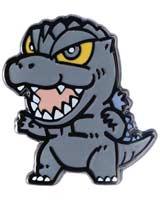 Godzilla Chibi 1/2 Inch Series 2 Enamel Pin