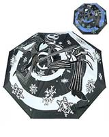 Nightmare Before Christmas Jack Skellington Snowflake Color-Changing Umbrella