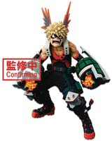 My Hero Academia WFC Super Master Katsuki Bakugo Figure 2D Version