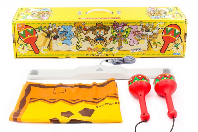 Dreamcast Samba De Amigo Maracas Controller by Sega