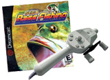 Sega Bass Fishing w/ Sega Fishing Rod Bundle