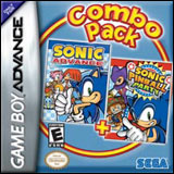 Sonic Advance / Sonic Pinball Party Combo Pack